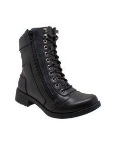 Women's Zipper Biker Boots