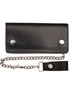 8 Inch Biker Wallet with 5 Pockets & Chain