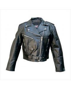 Ladies Basic Motocycle Jacket