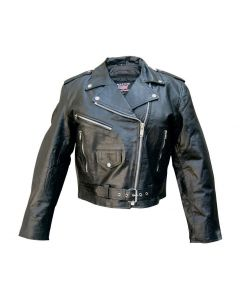 Ladies Basic Motocycle Jacket