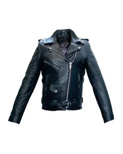 Ladies Full Cut Motocycle Jacket