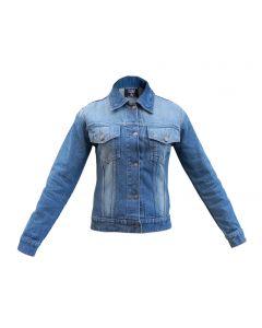 Women's Ombre Denim Jean Jacket