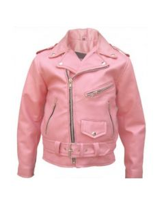 Kids Basic Motorcycle Jacket