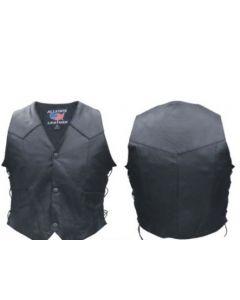 Light Weight Side Laced Biker Vest For Kids