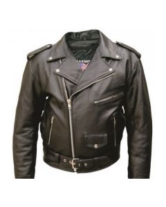 Classic Motorcycle Jacket For Men