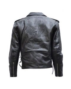 Men Motorcycle Jacket with Z/o Lining