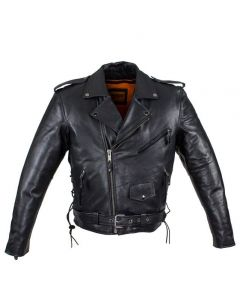 Mens Naked Cowhide Jacket
