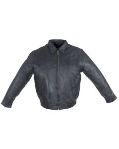 Mens Bomber Leather Jacket